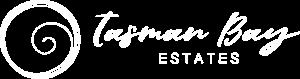 Tasman Bay Estates Logo Full White (1)